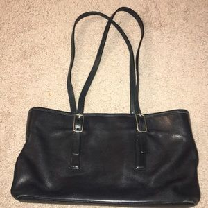 RARE Authentic Black Coach Vintage Shoulder Bag